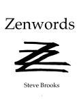 Zenwords Cover